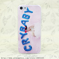 3256T Melanie Martinez Cry Baby Hard Transparent Cover Case for iphone 4 4s 5 5s 5C