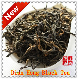 100g New 2014 Early Spring China Yunan FengQing Black Tea Organic Dian Hong Red Tea Warm Stomach+Secret Gift Free Shipping<br><br>Aliexpress