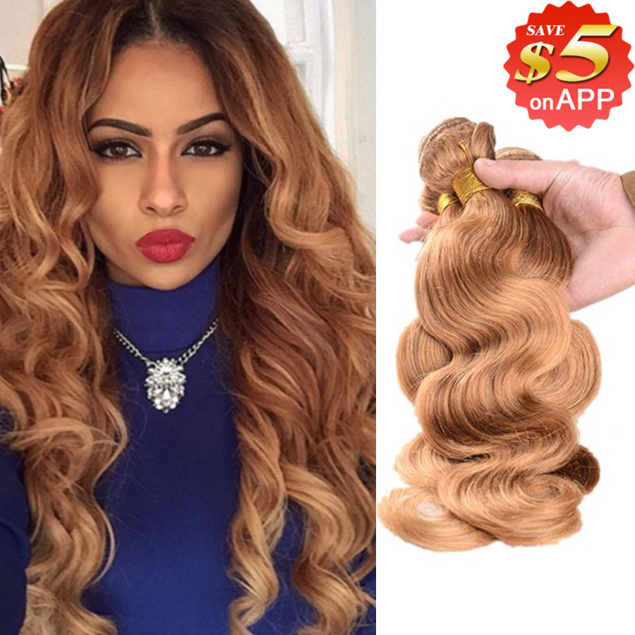 Queen hair products honey blonde brazilian hair body wave 3 honey blonde brazilian hair brazilian body wave 3pcs 7a brazilian virgin hair body wave brazilian hair weave bundles human hair pmusecretfo Gallery