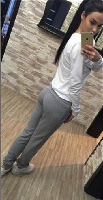 Women Hoodies Sweatshits Clothing Sets 2015 Autumn Hot Sale Big Logo Printed Tracksuits Casual Sport Cotton Shirts and Pants(China (Mainland))