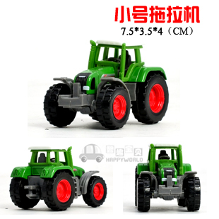 4 siku Small tractor mini exquisite cool alloy car model