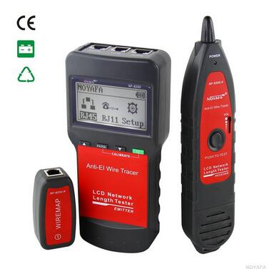 Free shipping, Original NOYAFA NF-8200 LCD Network LAN Cable Tester RJ45 Cable Tester Ethernet Cable Tester Network Cable Tester(China (Mainland))