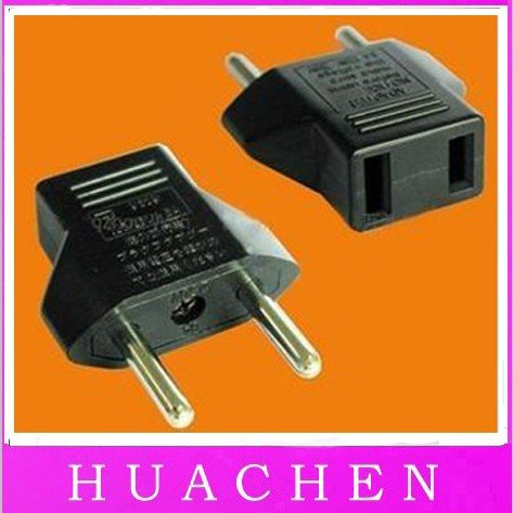 2199 1200pcs/lot free shipping Europe plug charger lots of US Travel Universal Power Adapter US USA Plug(China (Mainland))