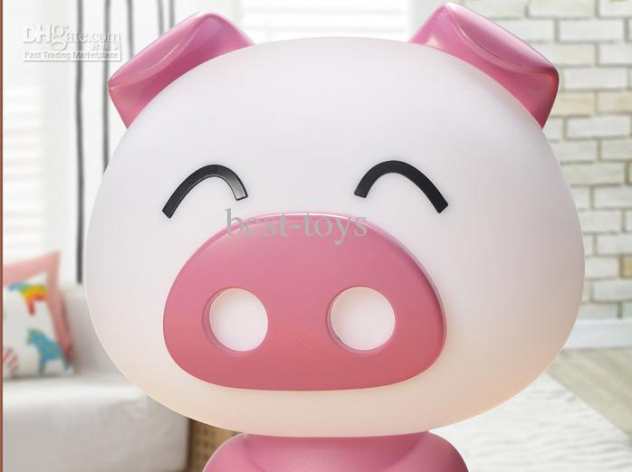 The pig thou dint desk lamp/lovely cartoon reading lamp small night lamp creative gift new strange