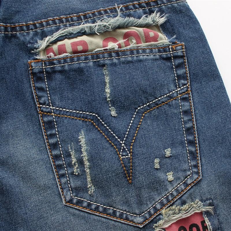 2016  Ripped Jeans True Mens Robin Jeans Famous Brand Designer Brand New Biker Jeans Hip Hop Swag Skinny Slim Pants MB16032 Z20