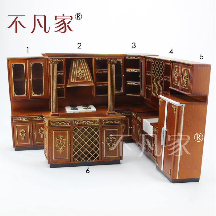 Popular miniature kitchen cabinets buy cheap miniature for Good quality inexpensive furniture