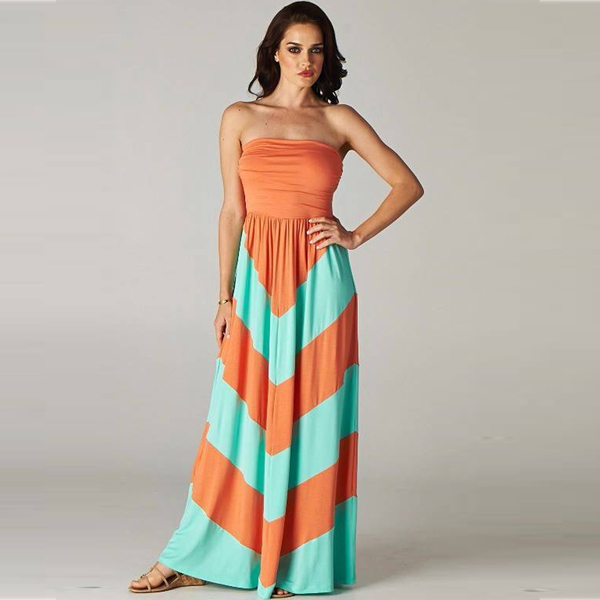Galerry casual mint maxi dress