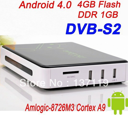Android High-Definition DVB-S2/S Receiver/ TV decoder with CCCAM Plugins, FREE SHIPPING(China (Mainland))