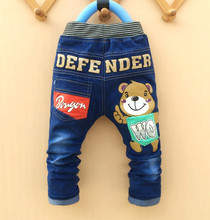 New summer Spring  baby boy jeans pants autumn children jeans child denim pants children trousers 2Y-6Y Free shipping(China (Mainland))