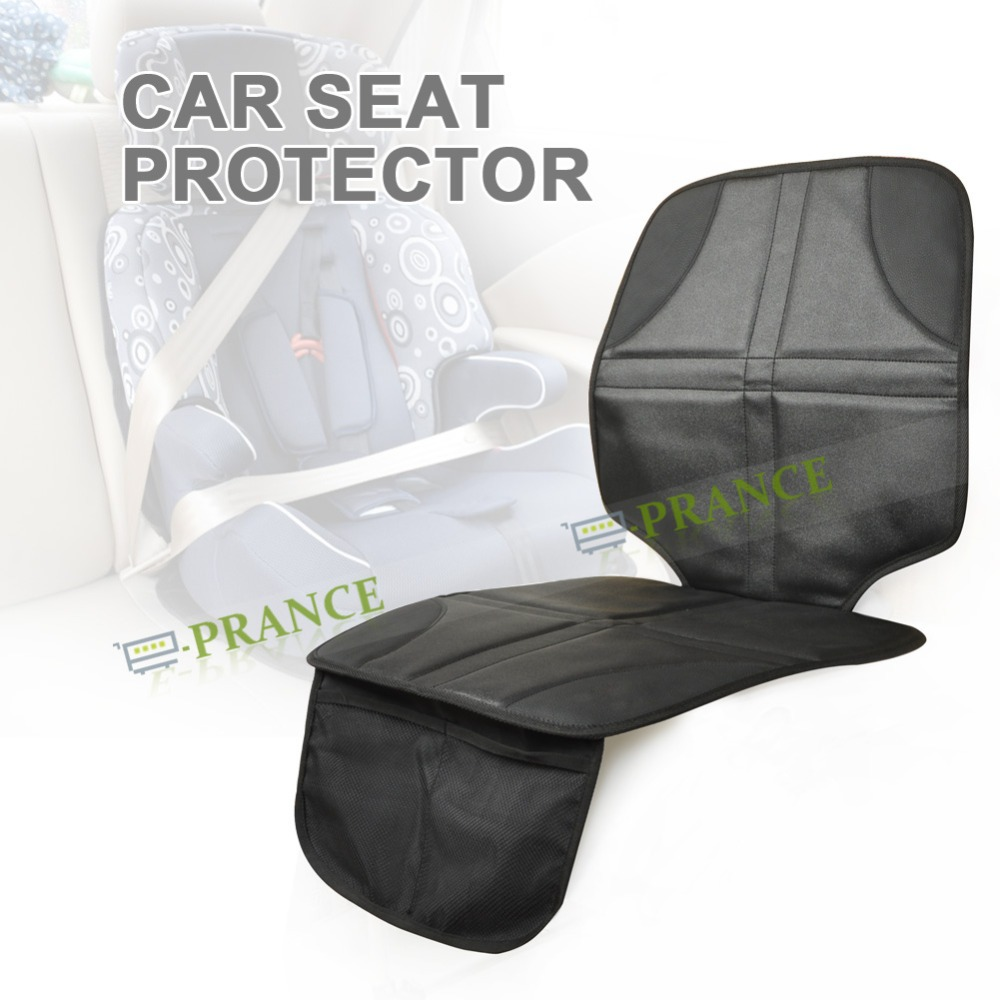 easy to clean pu leather car seat cover protector auto back seat cover kick mat for baby safety. Black Bedroom Furniture Sets. Home Design Ideas