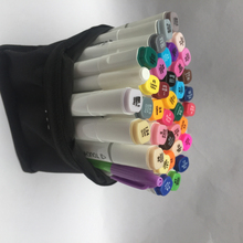 Buy Free six generations double mark pen alcohol oily hand-painted suit students 30 48 72 color copic markers manga stabilo for $16.10 in AliExpress store