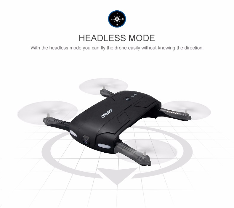 JJRC H37 Mini Elfie Drone Self-timer WIFI FPV With 0.3MP Camera Altitude Hold Foldable RC Quadcopter Headless Mode Helicopter