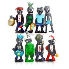 Buy 8pcs/set PVZ Plants vs Zombies Generation 3 PVC 8pcs Zombies Action Figures Collection Model Toys Dolls for $8.98 in AliExpress store