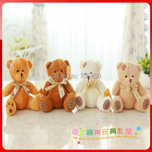 FREE SHIPPING! 7-inch colored cute me to you bear, teddy bear, paw bear, mini bear stuffed soft toy birthday gifts