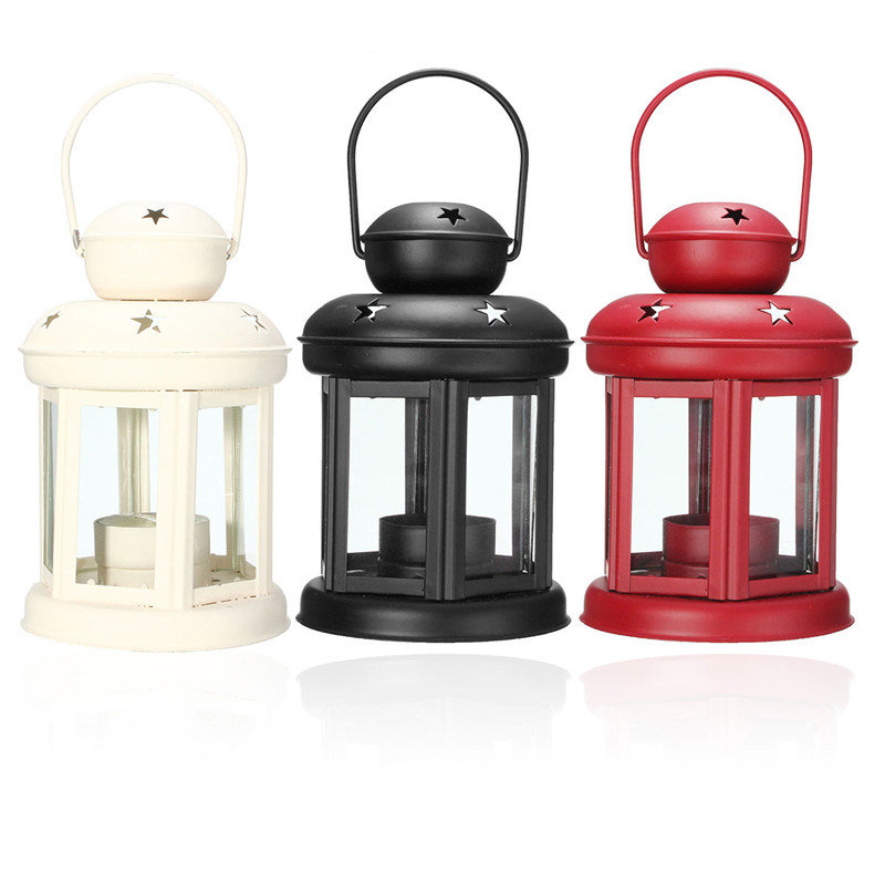 Fashion Vintage Metal Moroccan Lantern Candle Holder Hanging Home Garden Lamp Tealight Great Gift Great Decoration(China (Mainland))