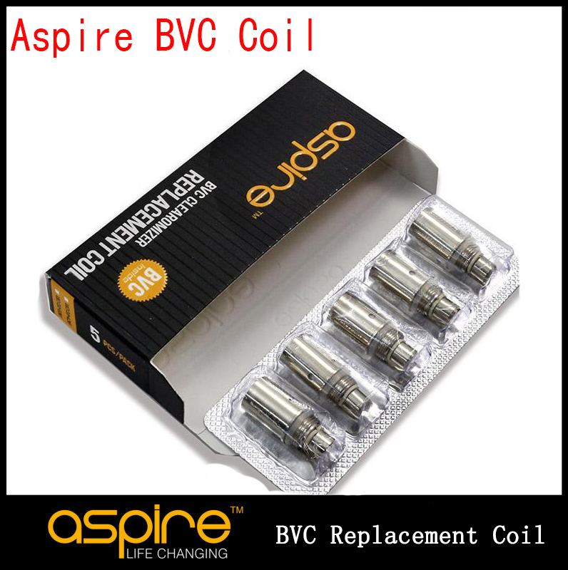 Aspire BVC coils for Clearomizer Electronic Cigarette Bottom Vertical Coil Aspire BVC CE5 S ET-S VOVONOVA Replacement (10PC YY)