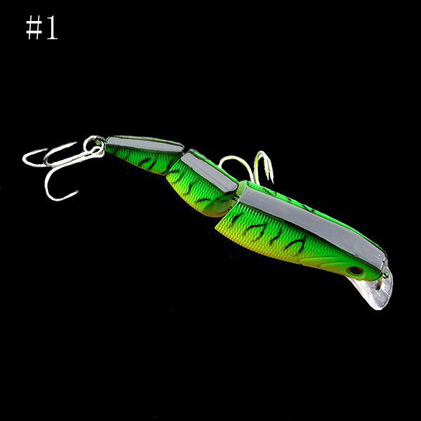 New Arrival 10cm 16g 3 Sections Hard Baits Floating Minnow Lures Artificial Fishing Lure Bait(China (Mainland))