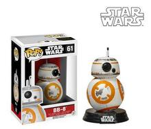 NEW Genuine FUNKO POP 10cm Star Wars: The Force Awakens BB-8  action figure Bobble Head Q Edition new box for Car Decoration