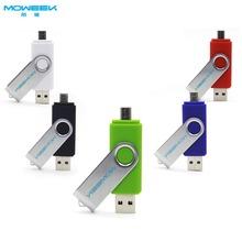 MOWEEK M30 OTG  usb flash drive pen drive 32gb 4gb 8gb 16gb double smartphone stick pendrive  Full capacity(China (Mainland))