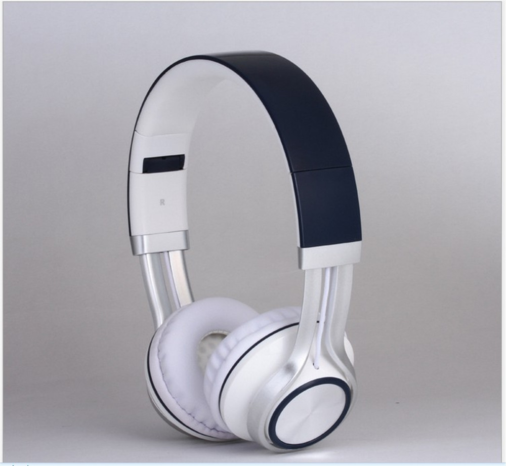 Wired 3.5mm foldable Headset Stereo Glowing Headphones Microphone Earphone big auriculares For IOS Andorid Smart Phone Computer
