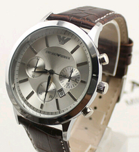 New 2015 Casual Watches Men Luxury Brand Leather Quartz Watch For Men Digital Watches 5 Styles