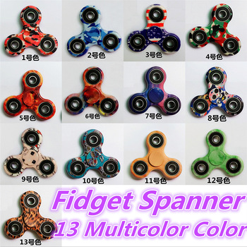 7 Colors Hand Tri-Spinner Fidget Toy Plastic EDC Sensory Fidget Spinners For Autism And ADHD Kids/Adult Funny Anti Stress Toys