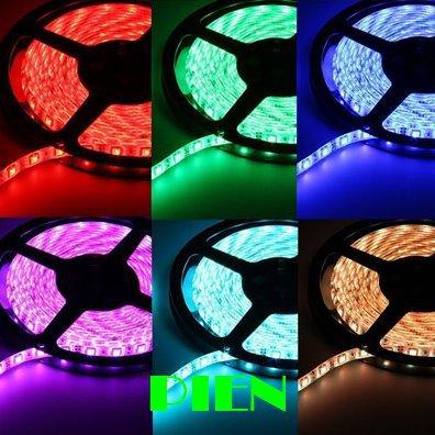 Гаджет  5050 3528 smd led strip RGB 5 m leds fita tape tiras ruban lampada luz waterproof blue green white for cortina 12V Free Shipping None Свет и освещение