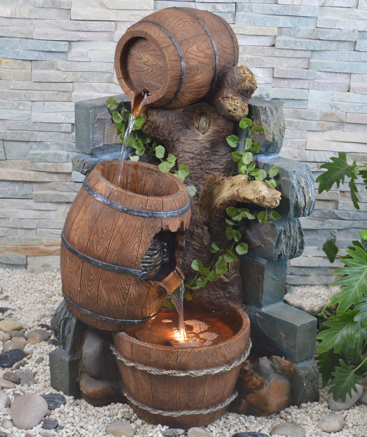 Online Buy Wholesale Wooden Garden Fountain From China