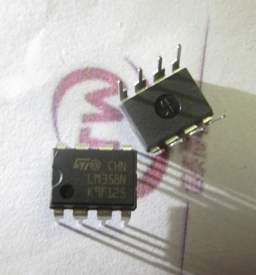 LM358P LM358N hundred percent imported, inline dual op amp DIP-8 Crown stores --XTW(China (Mainland))