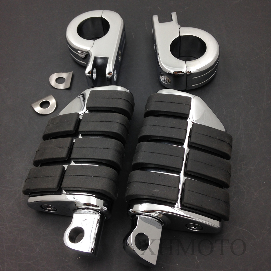Kuryakyn Highway P Clamps 1 1/4 Large Foot Pegs For H-D Sportster 883 XL1200<br><br>Aliexpress