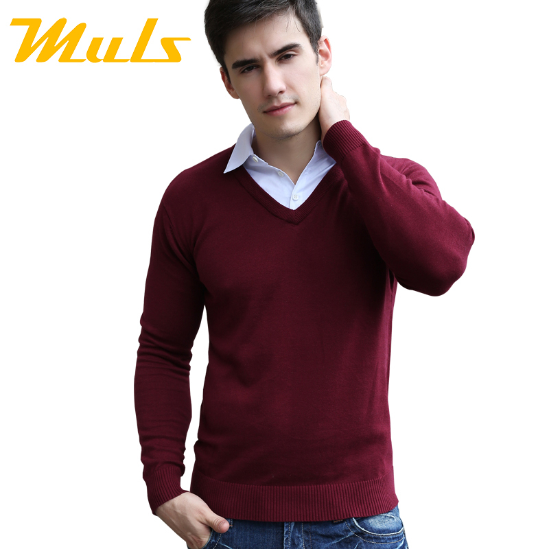 Winter mens sweaters and polo jumper pullovers couple for Pull over shirts for mens