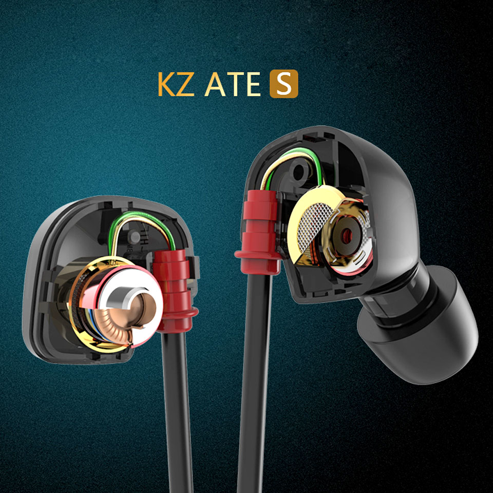 KZ ATE S Copper Driver HiFi font b Sport b font font b Headphones b font