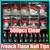 500 шт./упак. Акриловые Очистить Ложные Ногтей Половина Советы Ногтей Французский Маникюр Инструменты 10 Различные Размер Бесплатная доставка