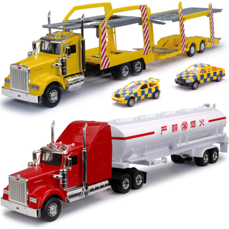 Toy Semi Trucks And Trailers : Cm kenworth alloy trailer tank truck container