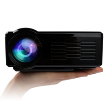 Black LED LCD Mini Projector BL-35 HD TV Portable Beamer Home Theater with VGA AV USB SD HDMI Headset full game video Proyector(China (Mainland))