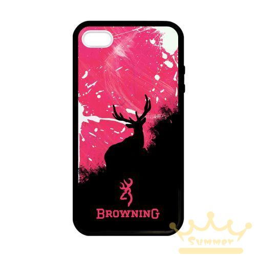 Browning deer camo cellphone case cover for iphone 4s 5s - Browning deer cell phone wallpaper ...