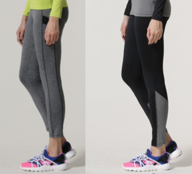 Women's Sport Leggings Fitness Long Bottoms Running Pants Elastic Patchwork Leggings for Work-out Training in Gym(China (Mainland))