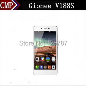 Original Gionee V188S Mobile Phone MTK6582 Quad Core Android 4.4 5 Inch IPS 1280X720 1GB RAM 8GB ROM 8.0MP 5200Mah Big Battery(China (Mainland))