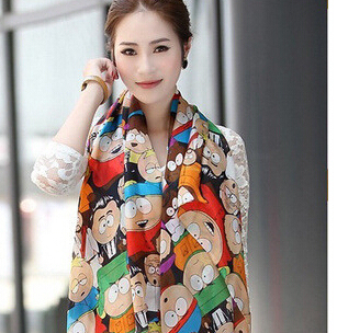 Бесплатная доставка мода шелк льда мода tecido хиджаб шарф женщин зима теплая кисточкой район полиэстер печать шали обруча мыс шарфы