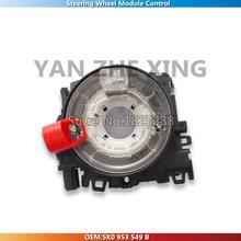 Steering Wheel Module Control Clock Spring For VW Golf 6 MK6 VI Jetta 5 MK5  Passat B6 B7 Octavia 5K0 953 549 B(China (Mainland))