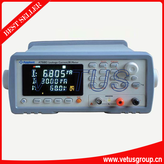 Fast Shipping AT680 200mA(MAX) Leakage Current Meter Tester Output Voltage 1V-650VDC<br><br>Aliexpress