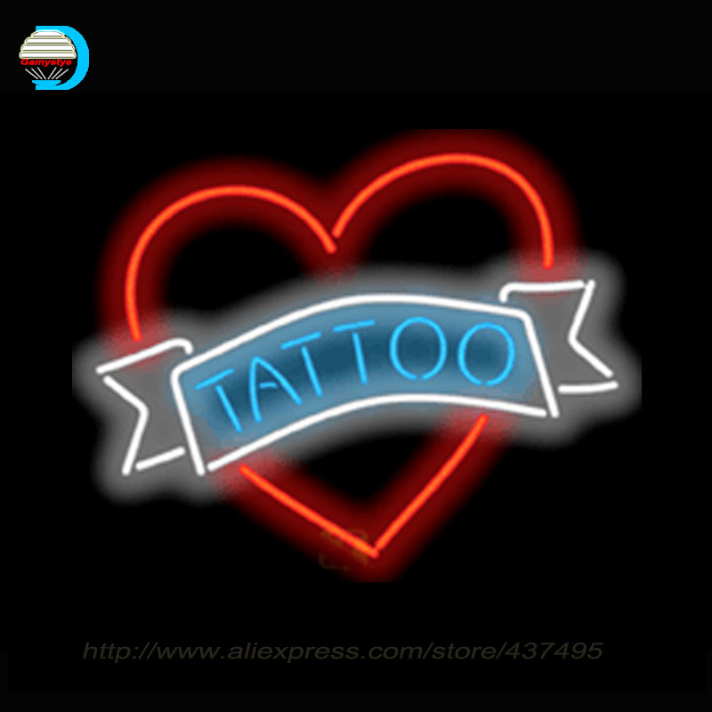 Popular tattoo neon sign buy cheap tattoo neon sign lots for Neon tattoo signs