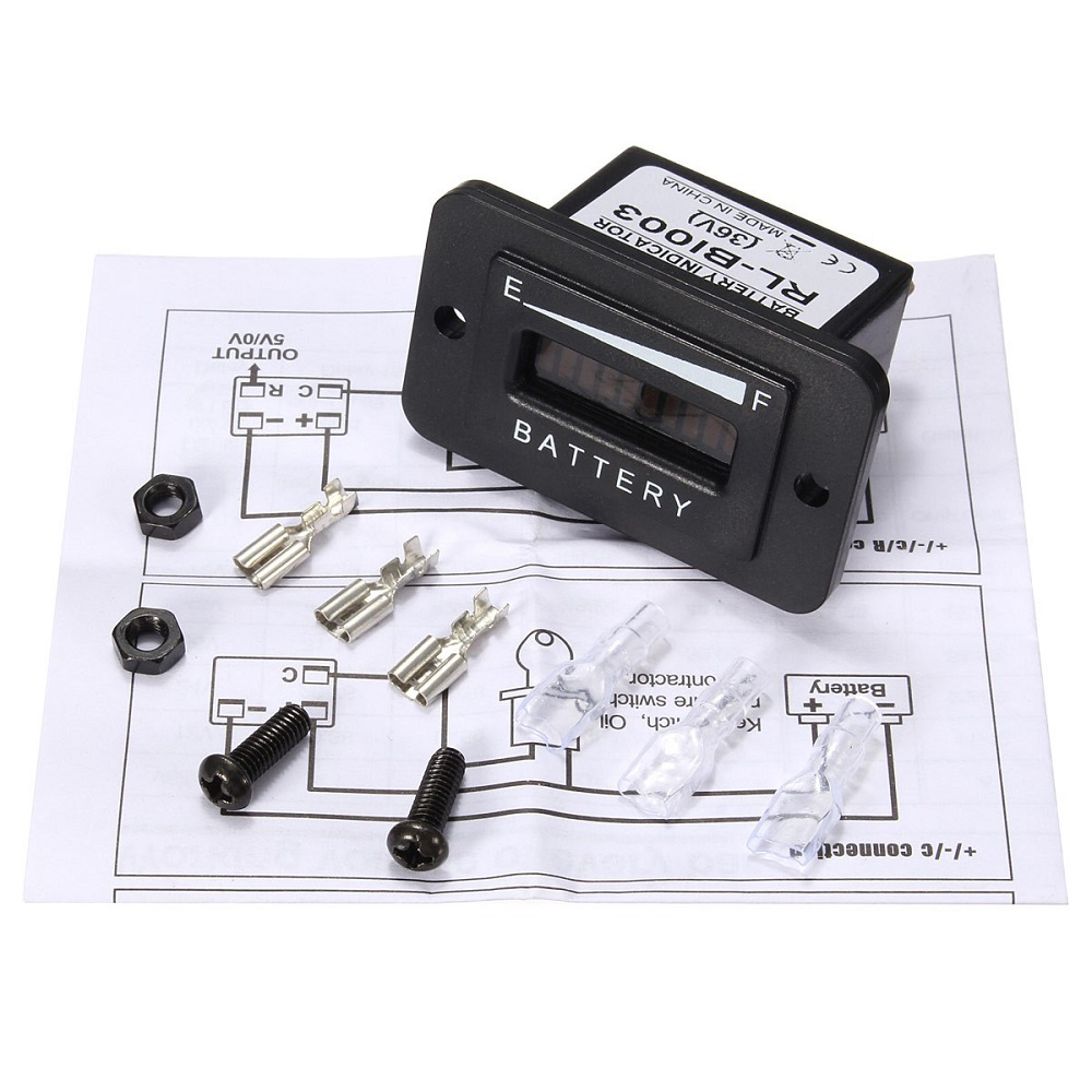 36v golf cart battery indicator wiring diagram ez go