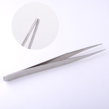 1pcs Nail Nippers Professional Nail Art Picking Up Tools Straight Nippers Tweezers Cuticle Cosmetic Stainless Steel Tool(China (Mainland))