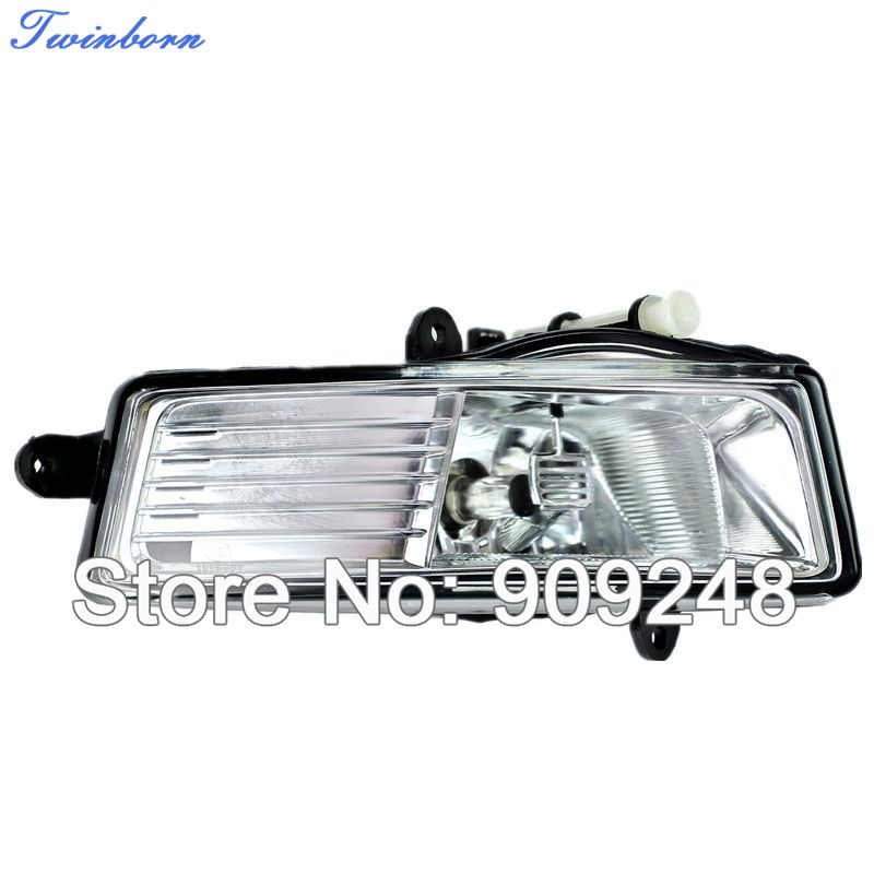 For 2009 2010 2011 Audi A6 C6 Fog Lamps Yellow Color Light Source Car Lights With H11 12V 55W Halogen Bulbs Right Side(China (Mainland))