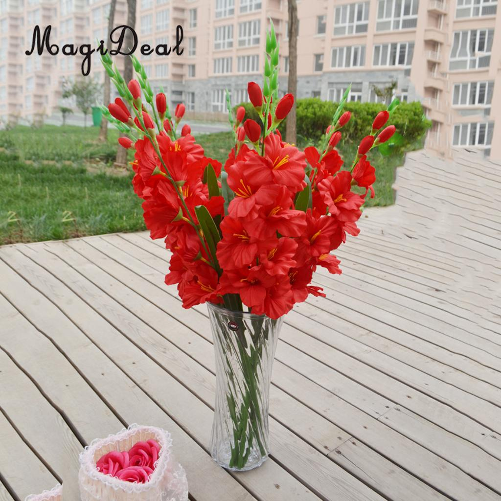 2018 Wholesale Magideal Realistic Artificial Simulation Gladiolus