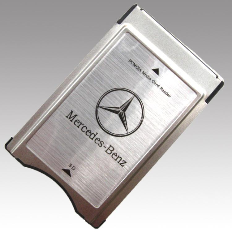 new mercedes benz pcmcia multi card reader adapter