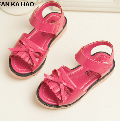 new children summer shoes girls shoes fashion tassel design princess sandals girls sandals non-slip kids sandals<br><br>Aliexpress