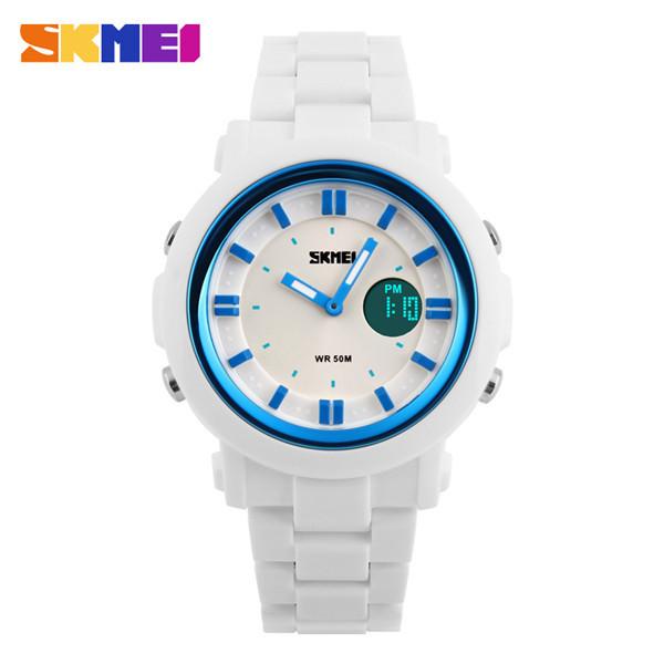 2015 New Watch Women Colorful Jelly Digit LED Women Watches Skmei Fashion Casual Quartz Sport Ladies Girl Wristwatch Reloj Mujer<br><br>Aliexpress