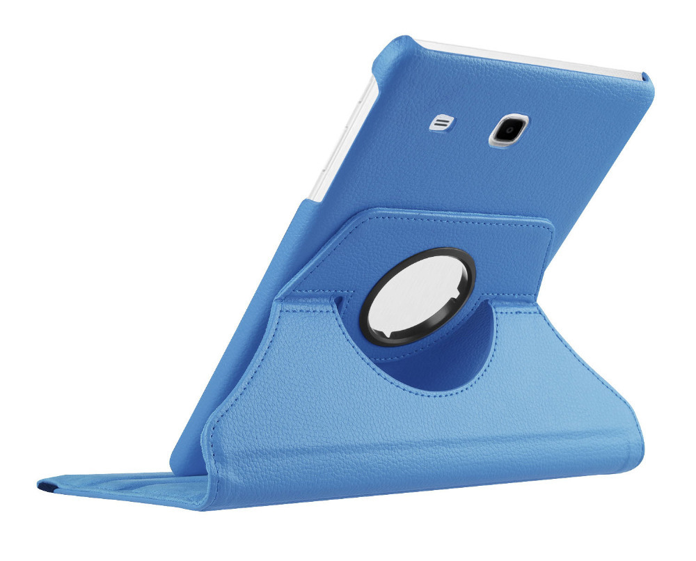 New Products Luxury 360 Rotating Flip Leather Stand Case Cover Tablet Case for Samsung Galaxy Tab